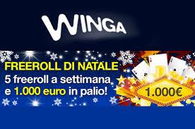 freeroll natale winga